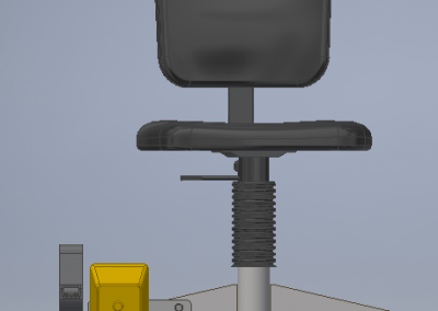 Design of a movable chair for a welding station