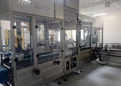 Complete packaging line